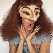 Medias Mascaras Personalizada #maskmaker #mascaras #mediasmascaras #maskpuppet