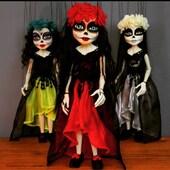 Katrina Burton en sus 3 vestidos de Novia! 👗🥻💃🏻Marioneta de 9 hilos y 50cm